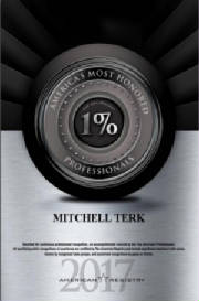 Mitchell Terk, MD: Awarded America's Most Honored Professionals 2017 Top 1%