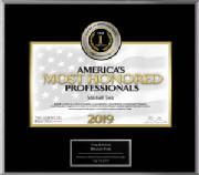 Mitchell Terk, MD: America's Most Honored Professionals 2019 - Top 1%
