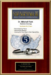 Mitchell Terk, MD: Castle Connolly Regional Top Doctor 5th Anniversary - 2019