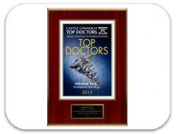 Castle Connolly Top Doctor's Award 2015 - Mitchell Terk, MD